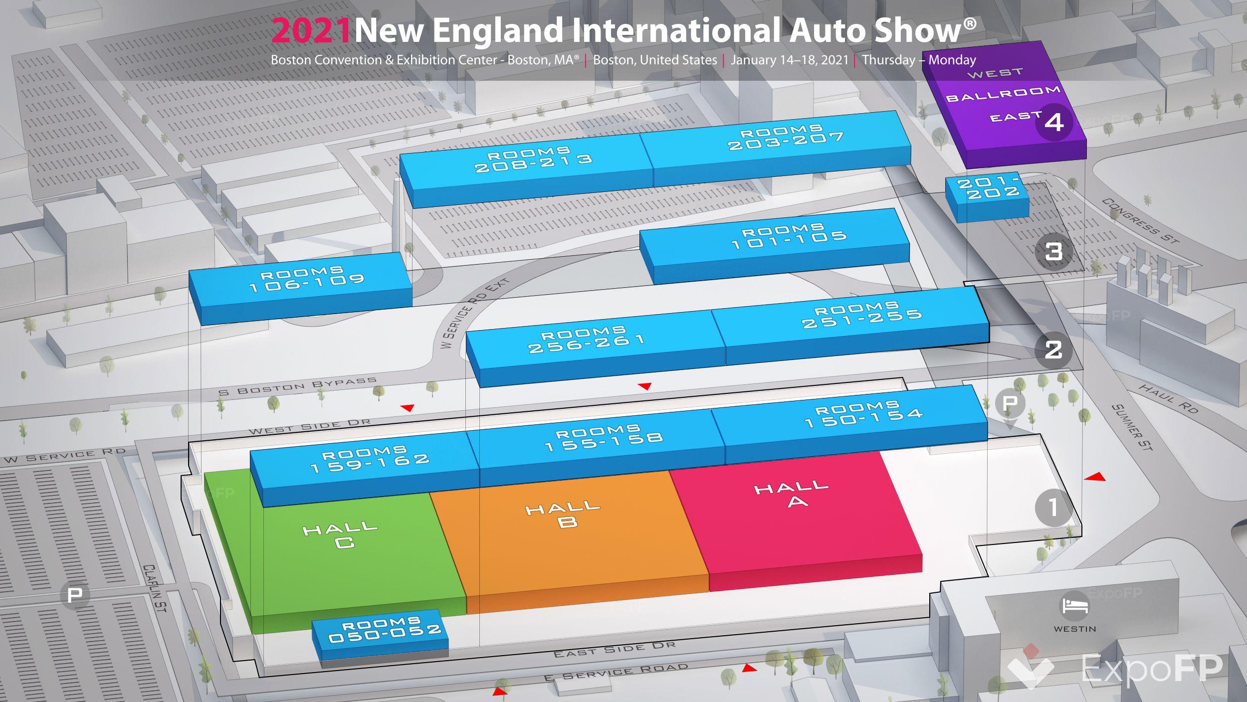 New England International Auto Show 2021 In Boston Convention Exhibition Center Boston Ma
