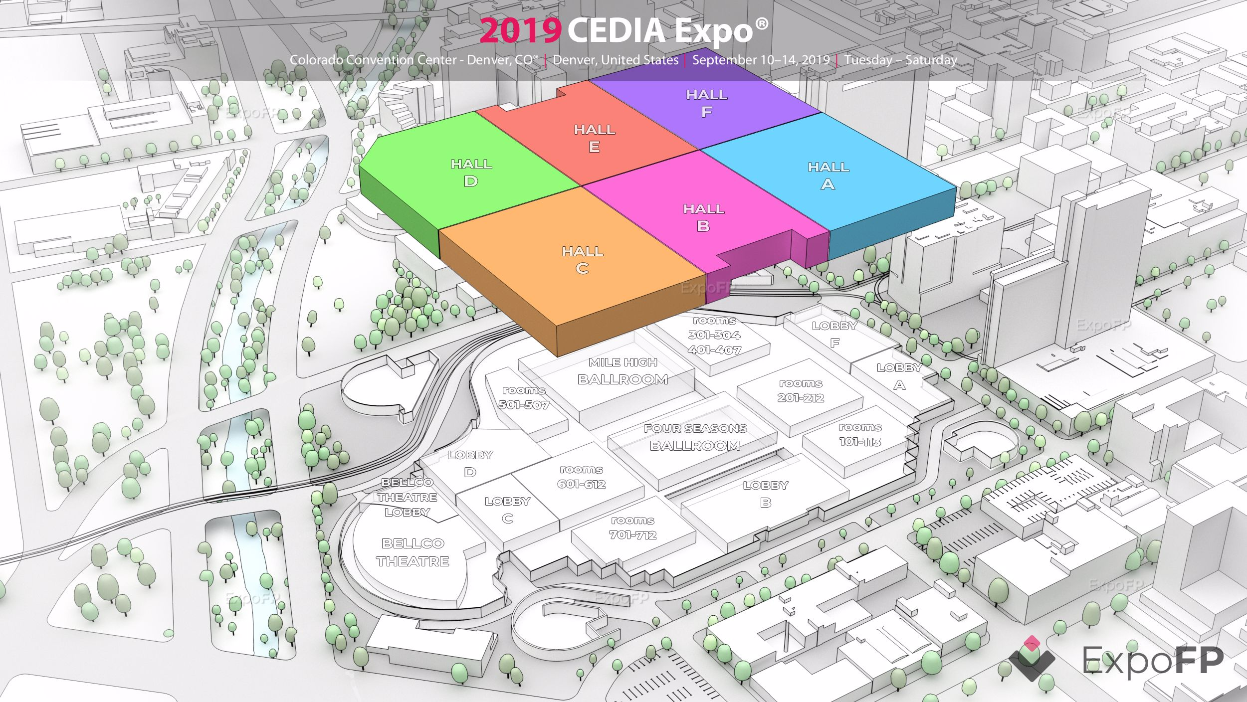 CEDIA Expo 2019 in Colorado on