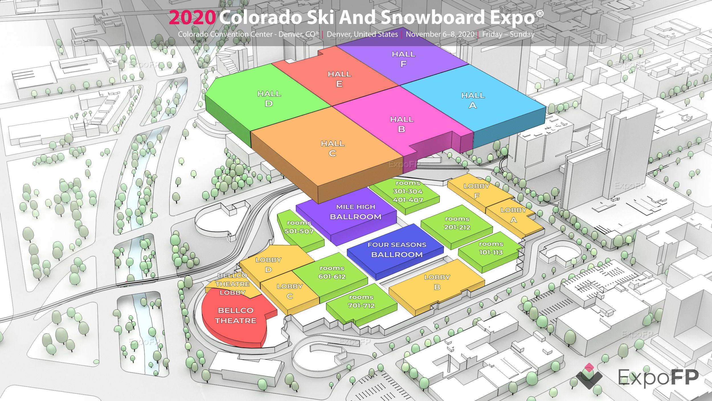Colorado Ski And Snowboard Expo 2020 In Colorado Convention Center Denver Co