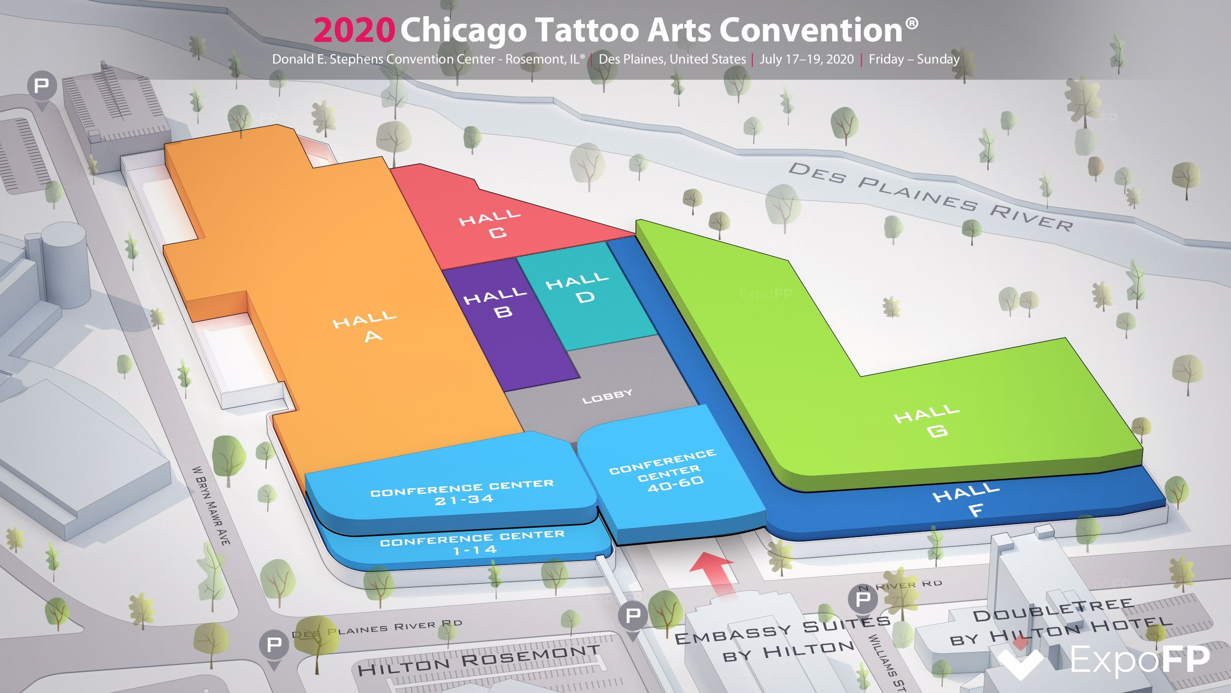 Chicago Tattoo Orlando Halloween 2020 Chicago Tattoo Arts Convention 2020 in Donald E. Stephens