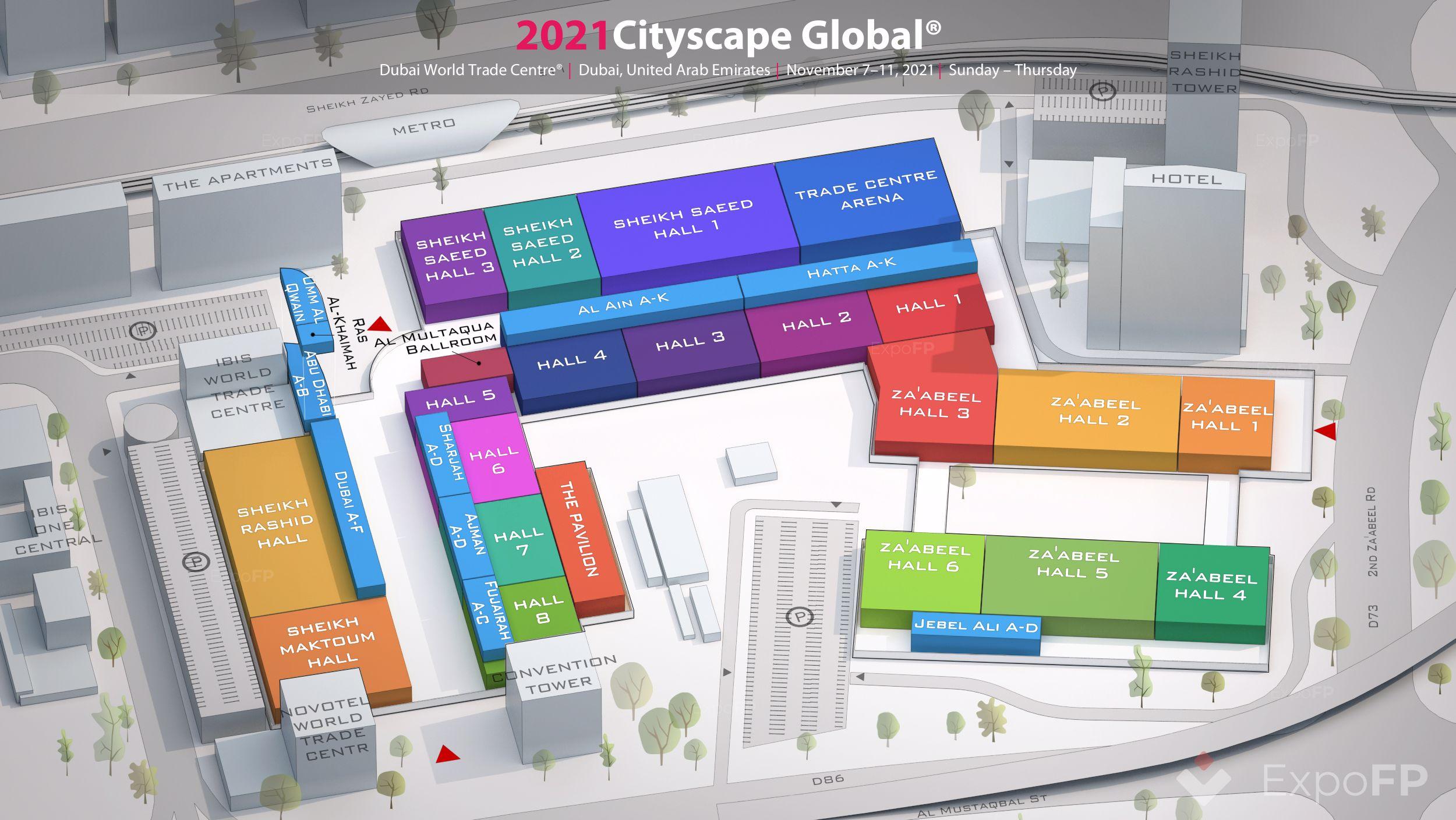 Cityscape Global 2021 In Dubai World Trade Centre