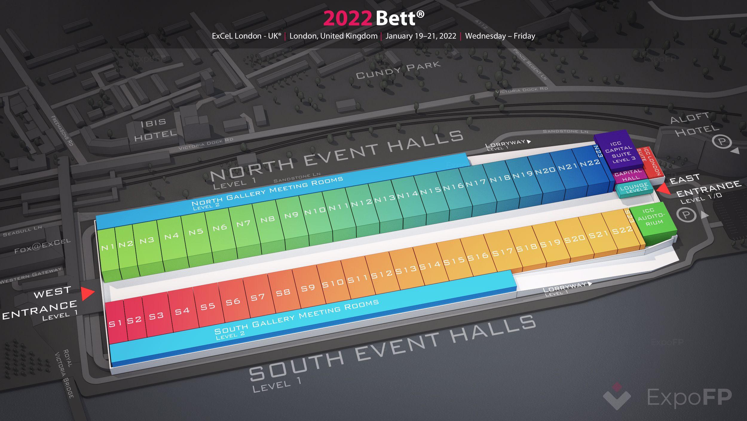 Bett 2022 In Excel London Uk