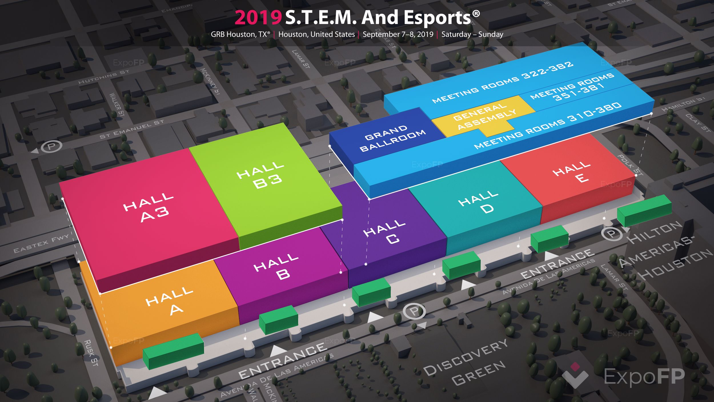 S T E M  and Esports 2019 in GRB Houston