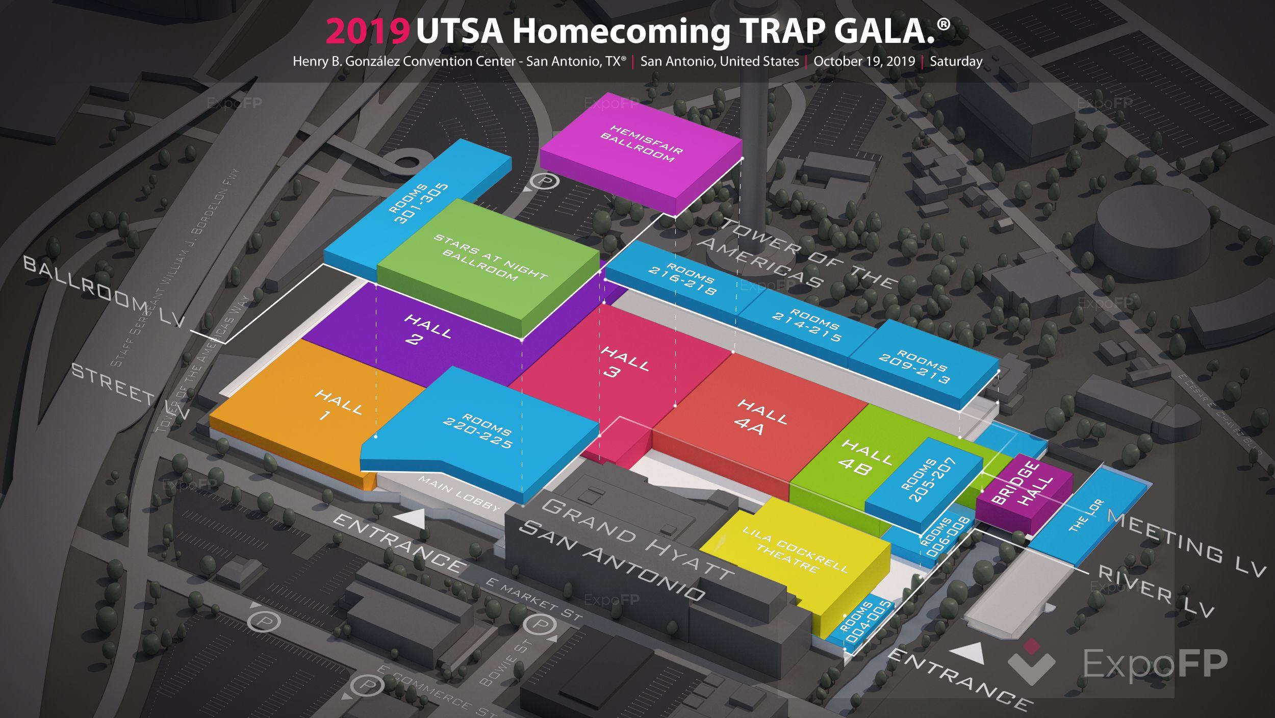 Utsa Graduation 2020.Utsa Homecoming Trap Gala 2019 In Henry B Gonzalez