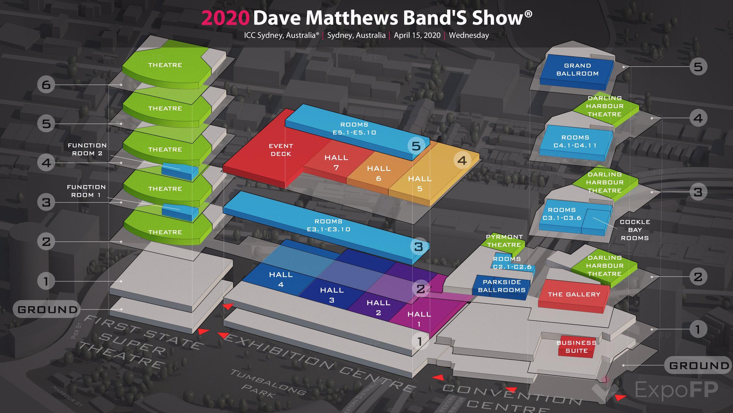 Dave Matthews Band Tour 2020.Dave Matthews Band S Show 2020 In Icc Sydney