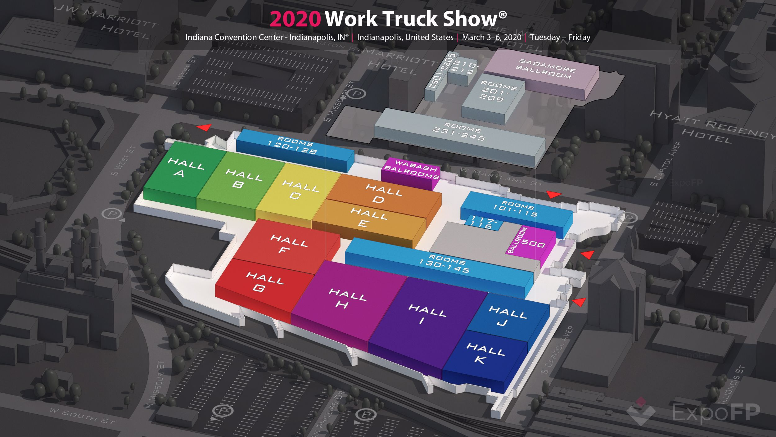Truck Show 2020.Work Truck Show 2020 In Indiana Convention Center