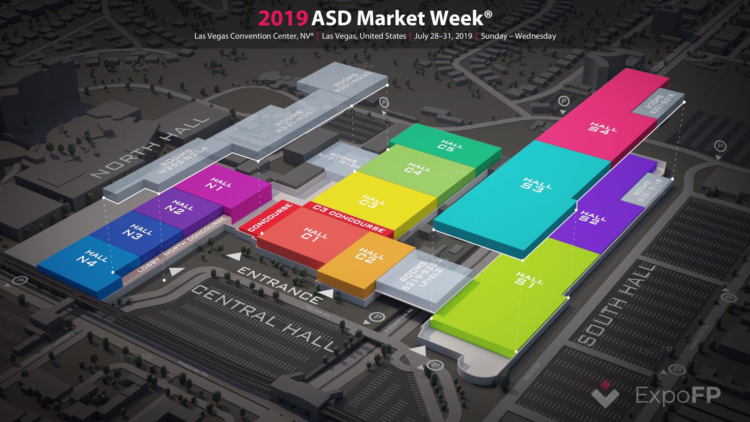Asd Trade Show 2020.Asd Market Week 2019 In Las Vegas Convention Center
