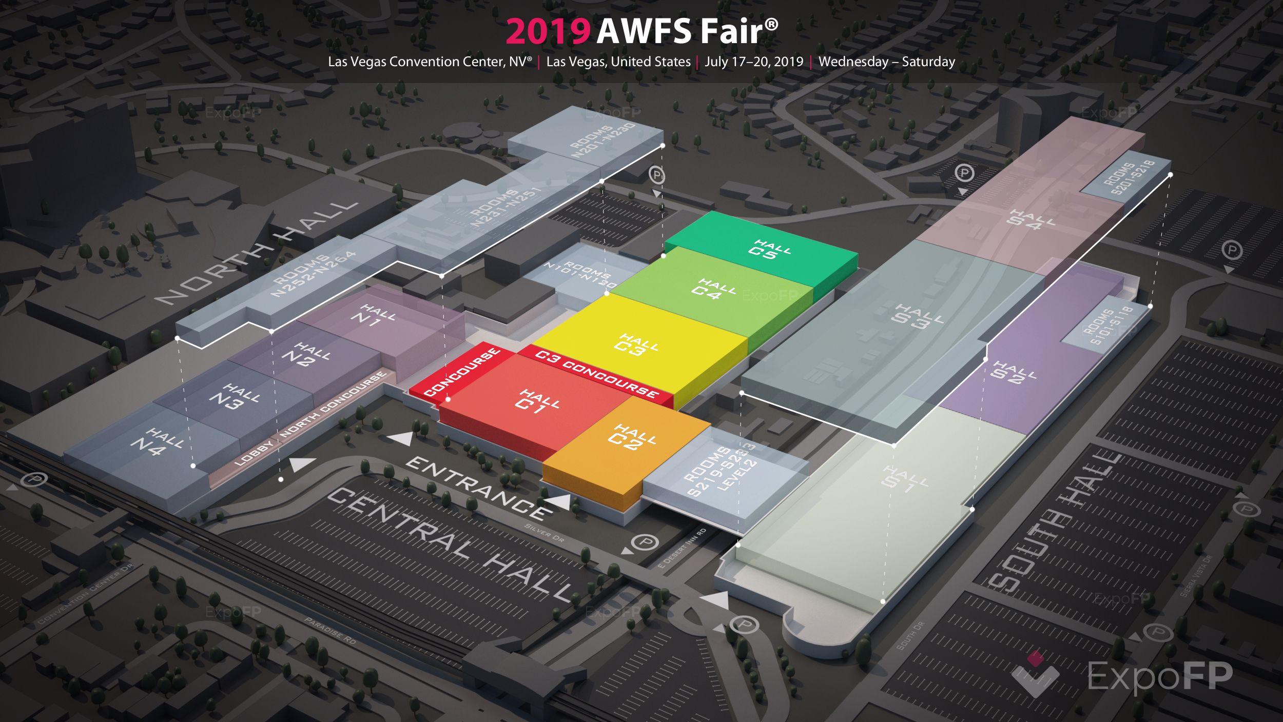 Awfs Fair 2019 In Las Vegas Convention Center Nv