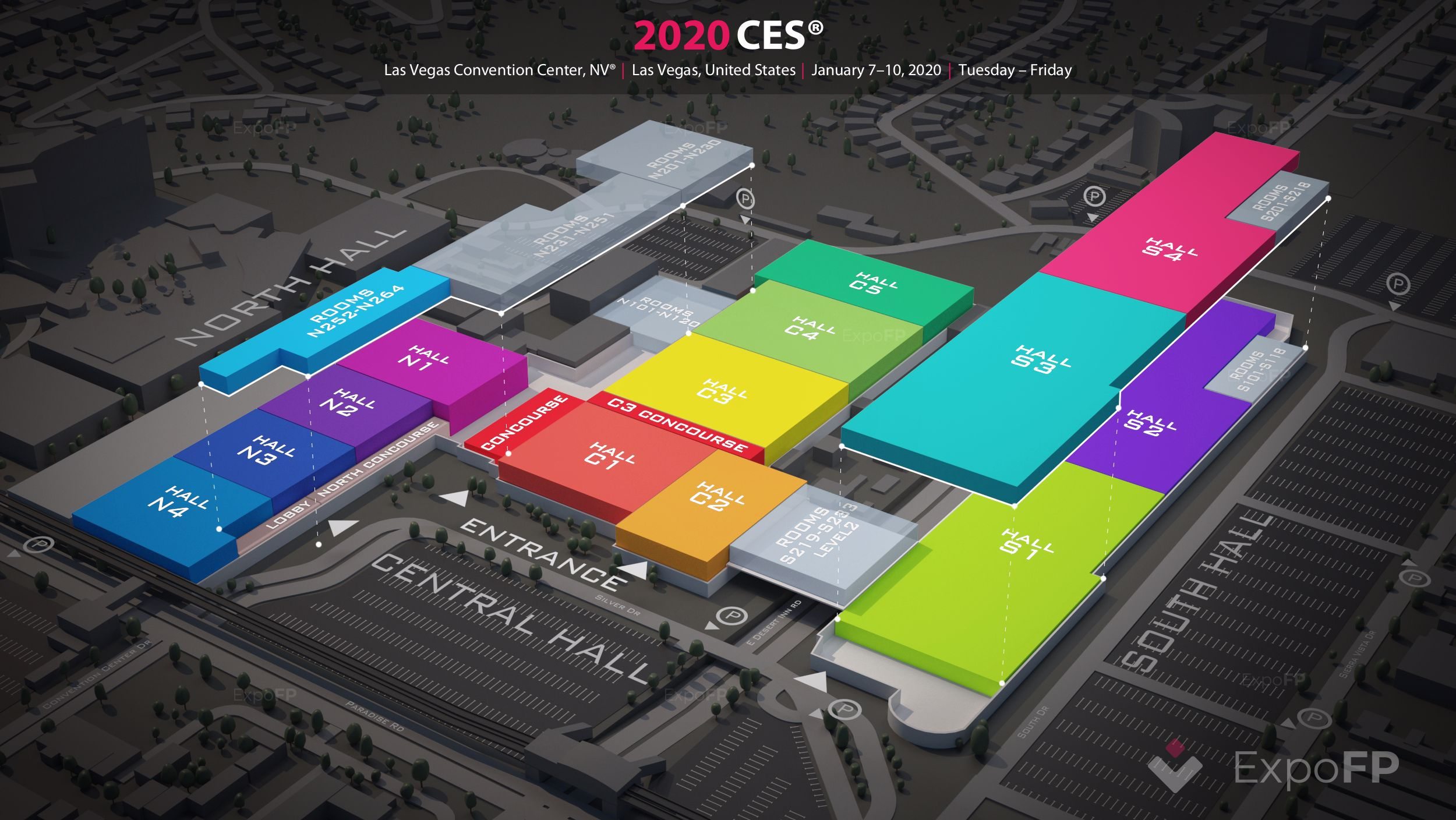 Ces 2020 In Las Vegas Convention Center Nv