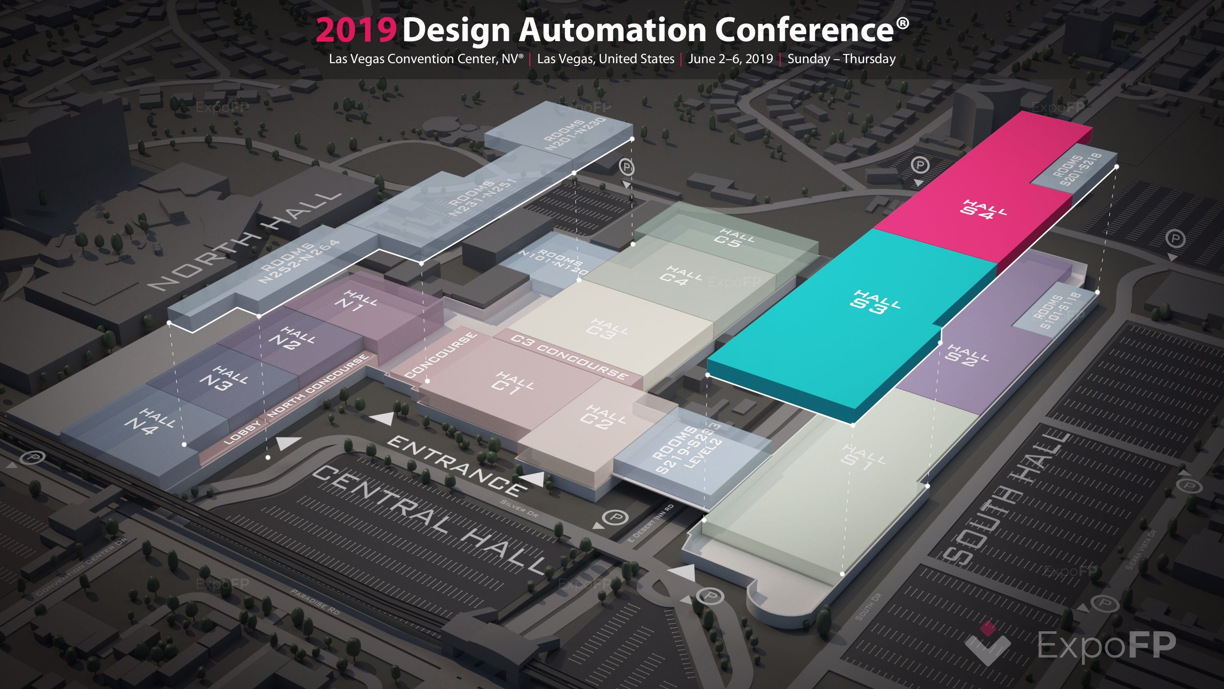 Design Automation Conference 2019 in Las Vegas Convention Center