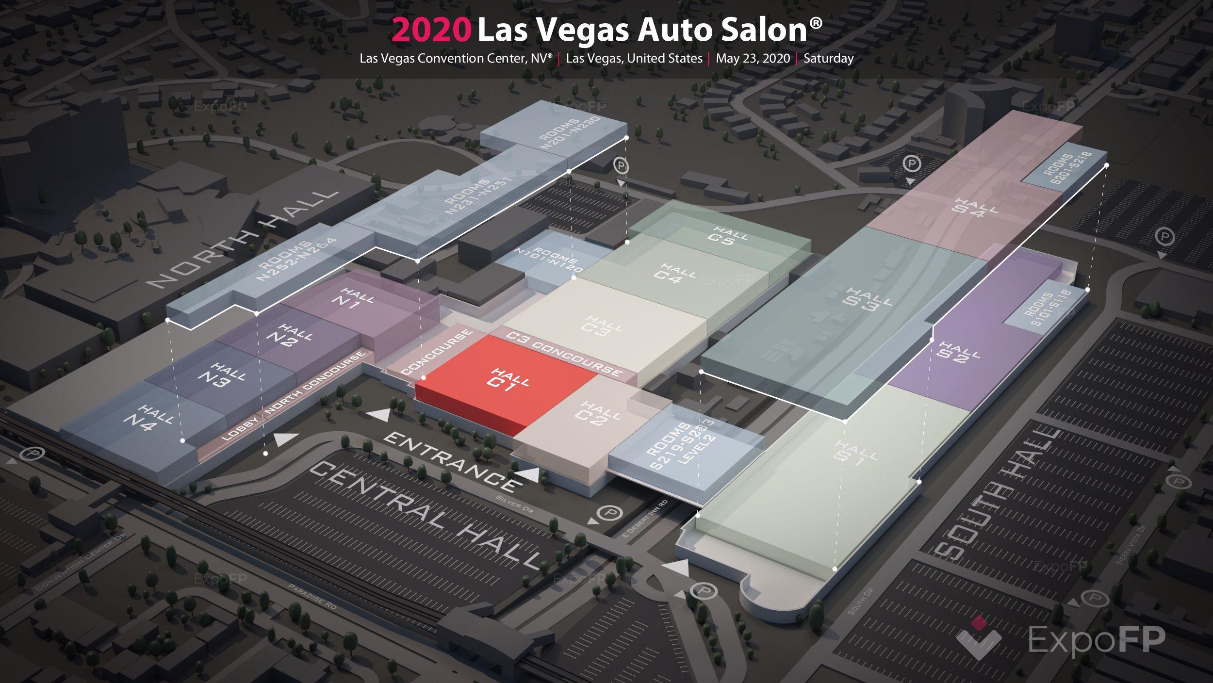 Las vegas auto salon 2020 register | las vegas auto salon 2020 3d floor plan | las vegas auto salon produced by importexpo 2020