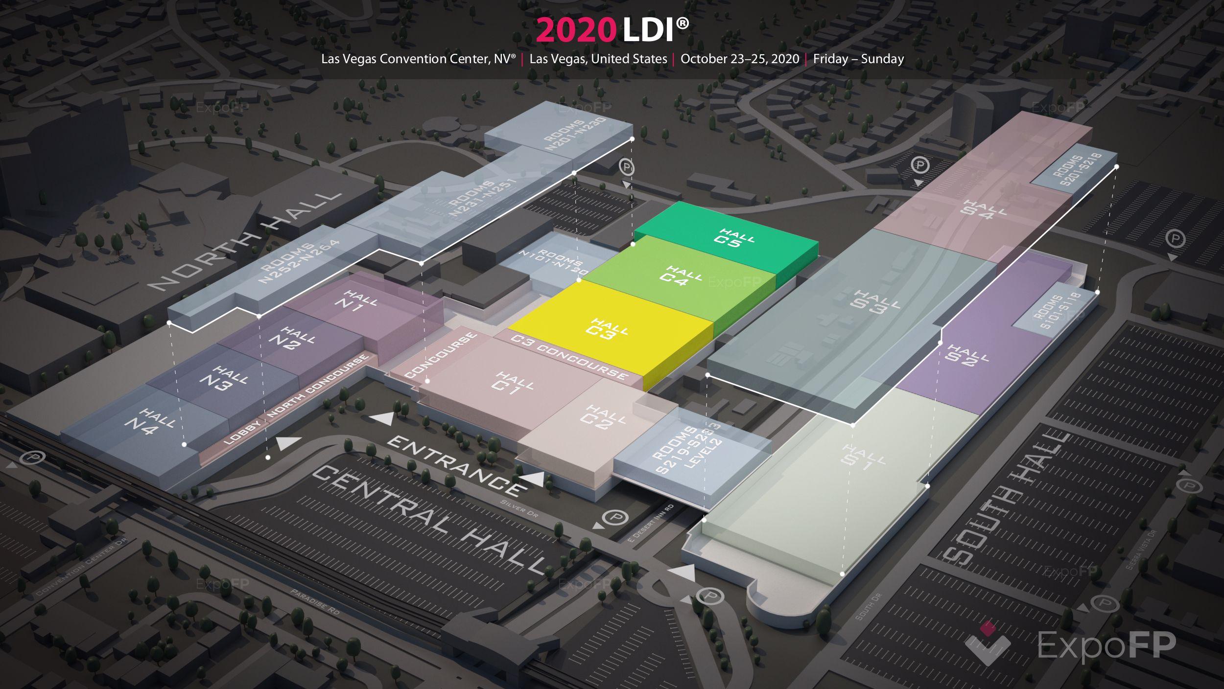 Ldi 2020 3d floor plan