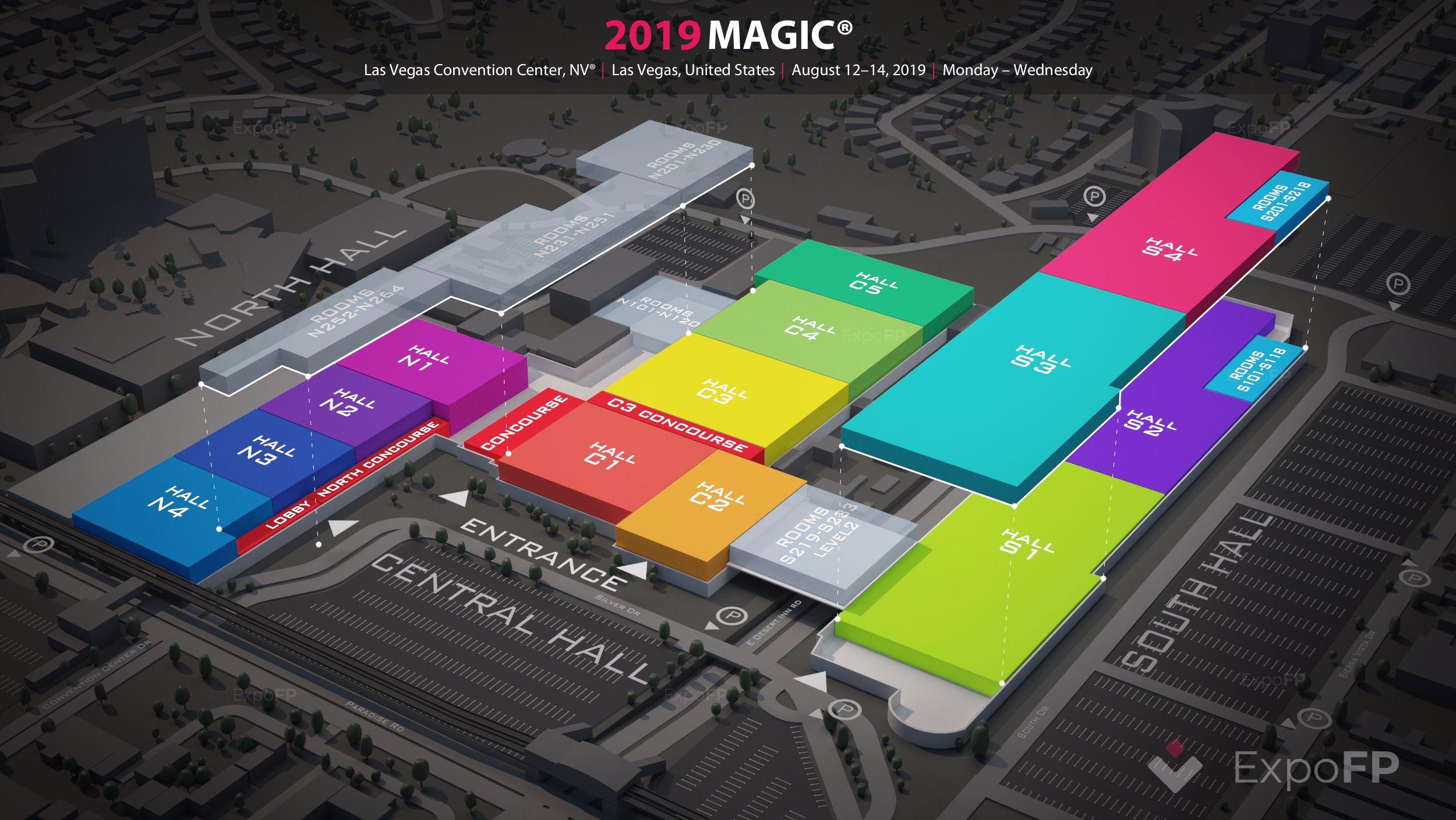 Las Vegas Convention Center Calendar 2022.Magic 2019 In Las Vegas Convention Center Nv