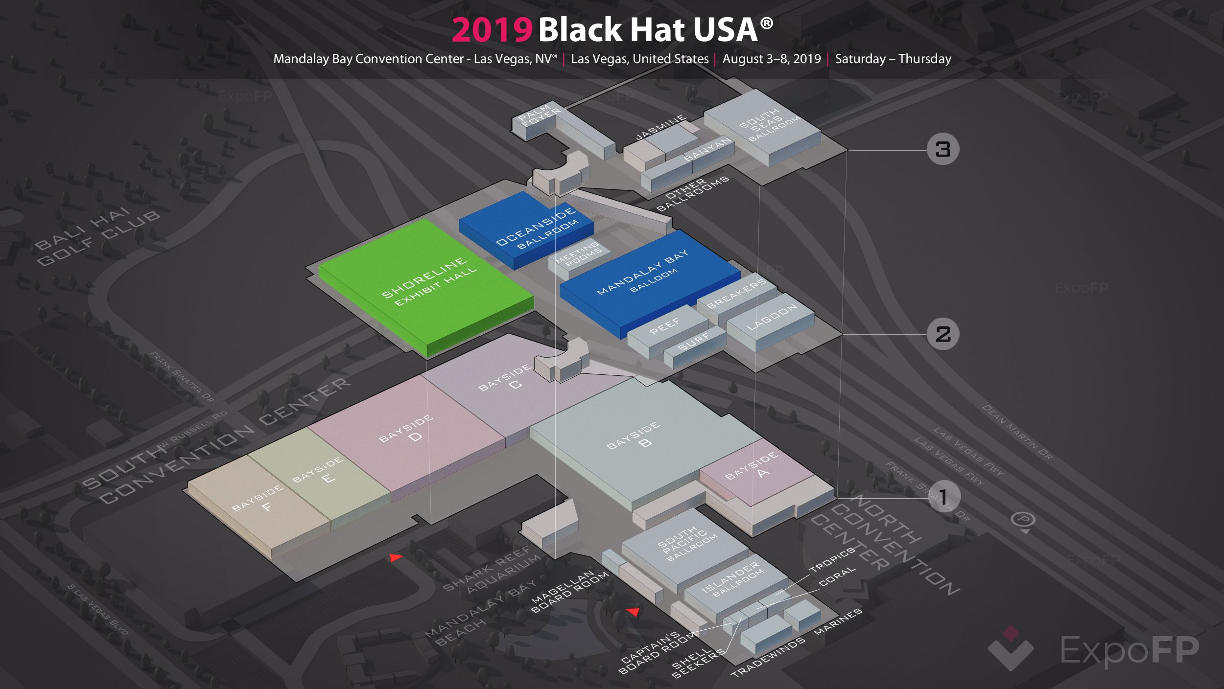 Black Hat USA 2019 in Mandalay Bay Convention Center