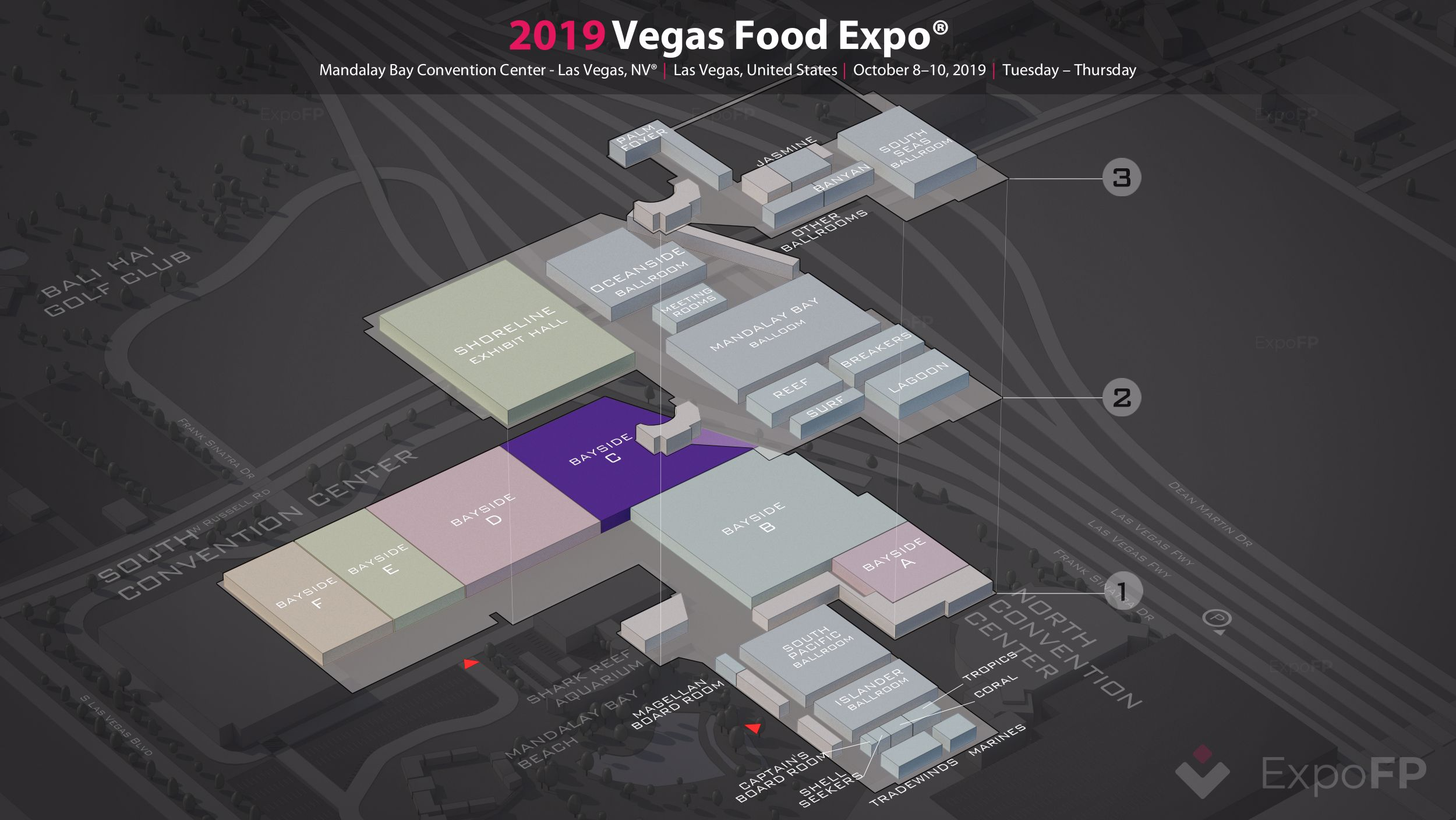 Vegas Food Expo 2019 in Mandalay Bay Convention Center