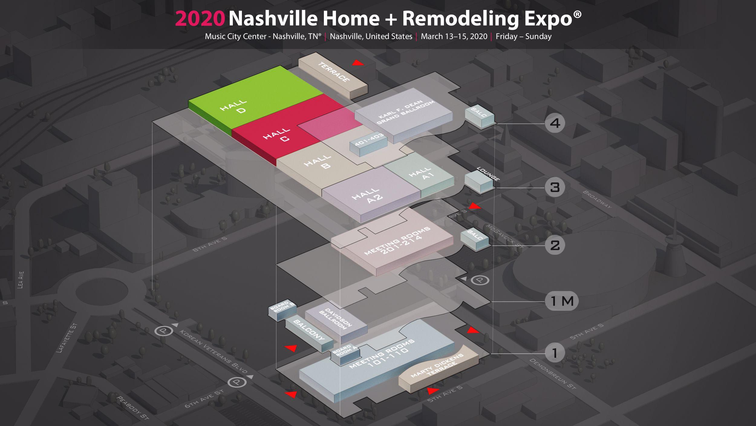 Nashville Home Remodeling Expo 2020 In Music City Center Nashville Tn