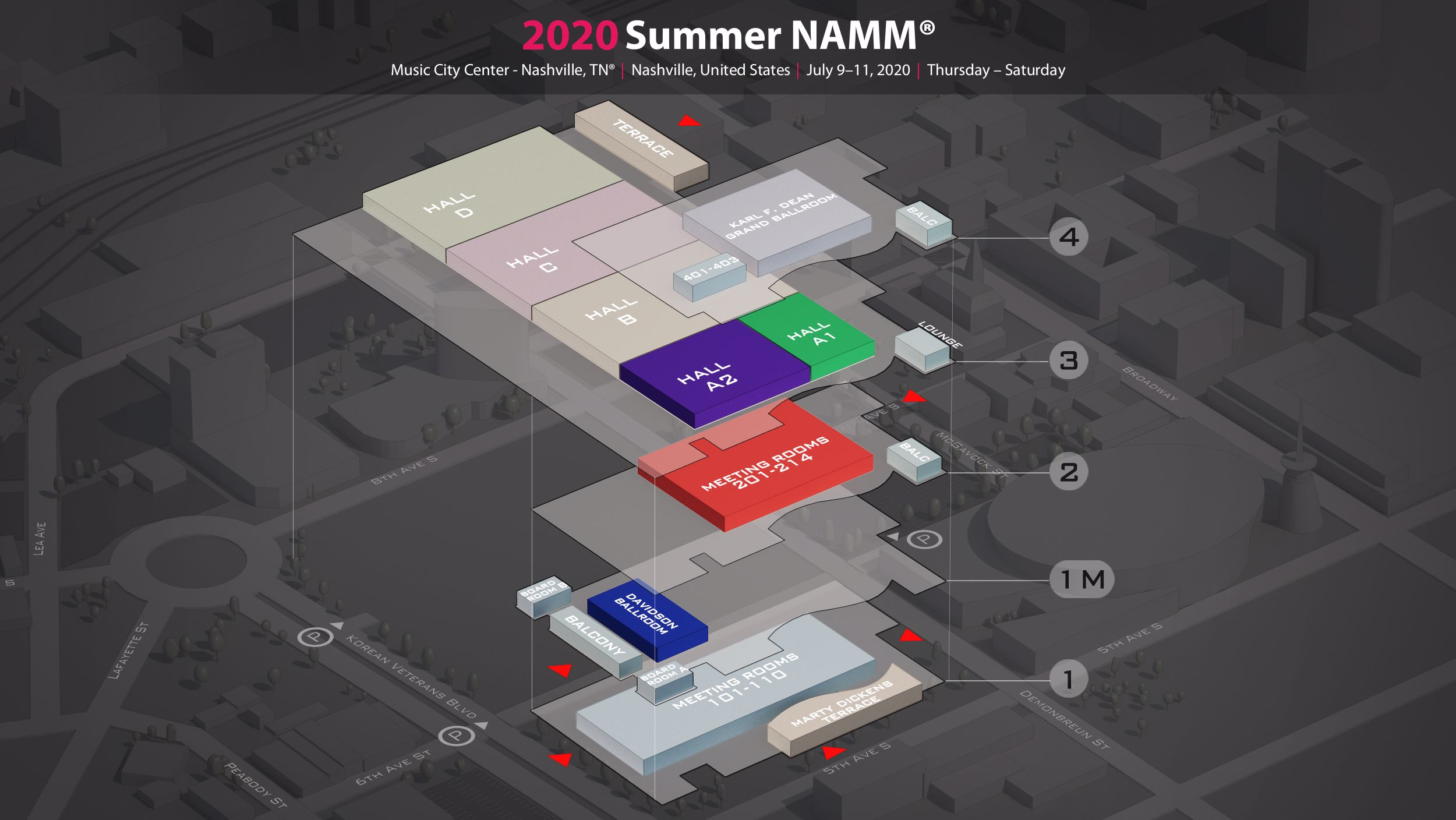 Namm 2020 Summer.Summer Namm 2020 In Music City Center