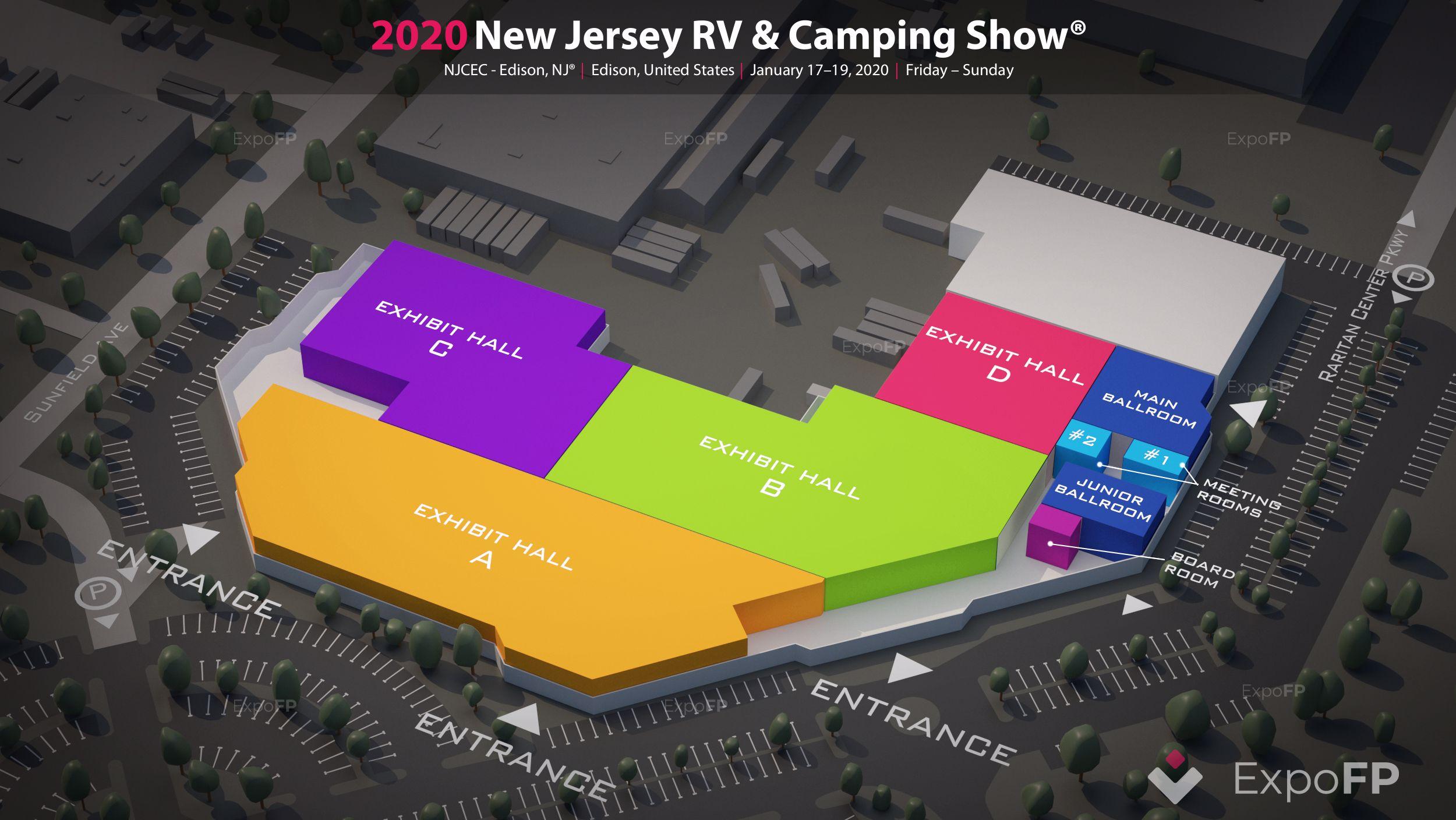 Dallas Rv Show 2020.New Jersey Rv Camping Show 2020 In Njcec