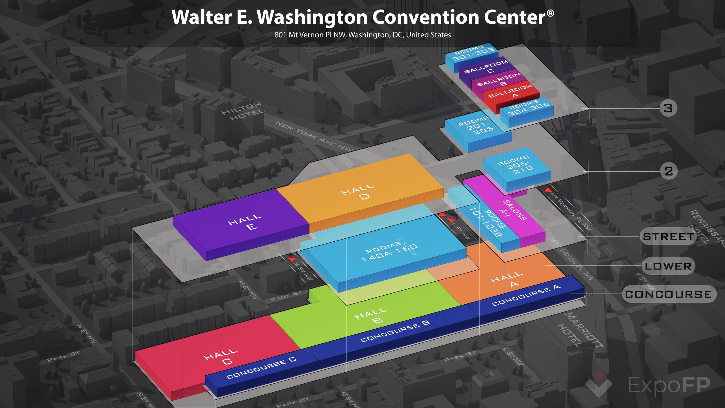 Walter E Washington Convention Center Floor Plan
